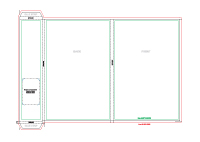 A4 folder cap8mm