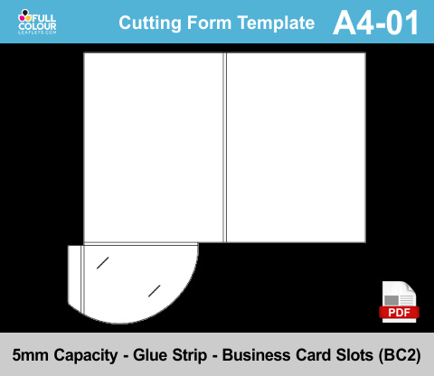 A4 presentation folders template A4-01.