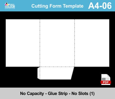 A4 presentation folders template A4-06.