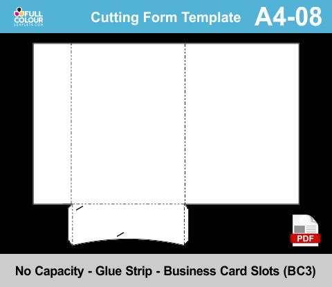 A4 presentation folders template A4-08.