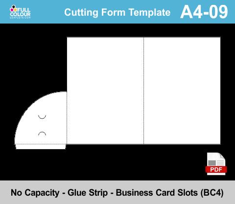 A4 presentation folders template A4-09.